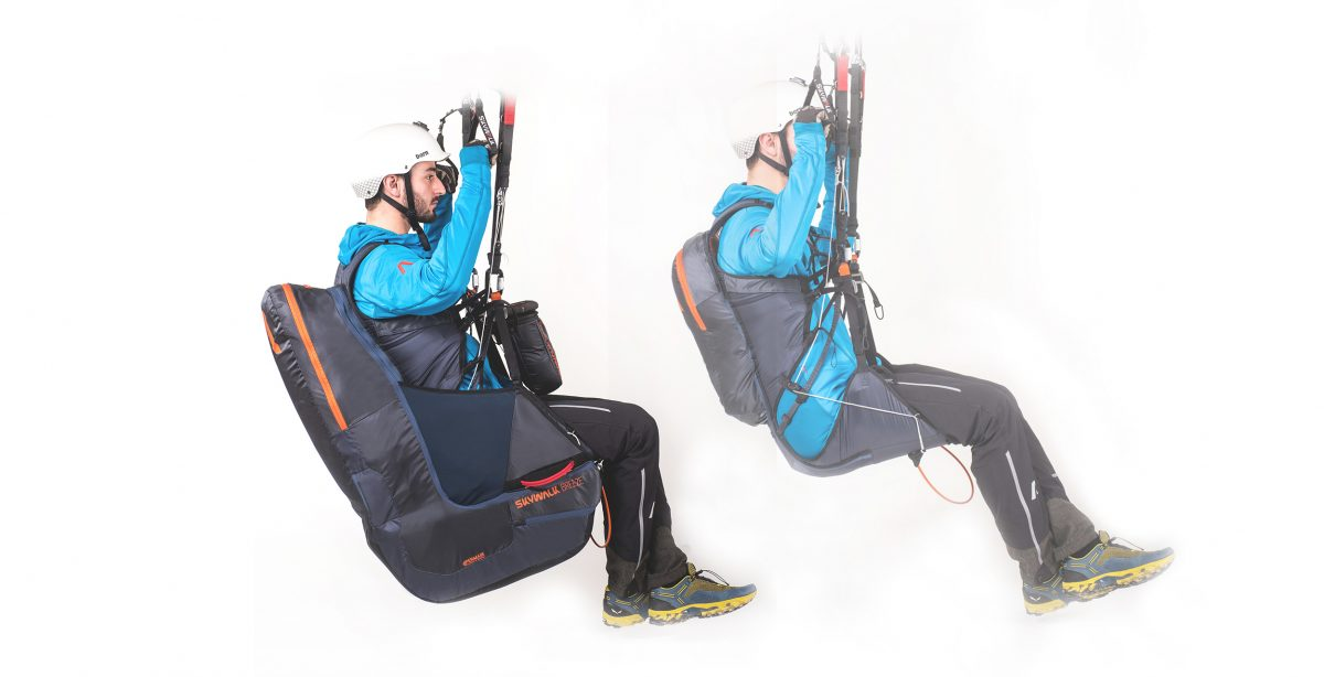 SKYWALK BREEZE Modular, lightweight harness