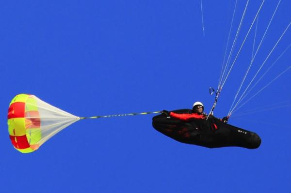Gin Gliders G-chute deployed