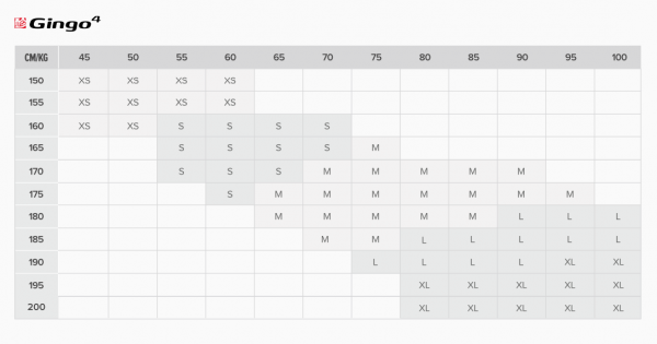 Gingo-4-size-chart