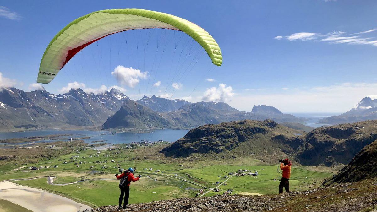 Jerome Maupoint's photo of Gin Gliders' Calypso at Yttersand, Lofted, Norway