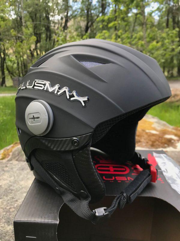 Plusmax Plusair 2 Helmet Black XXXL (63cm)- Complete with Visor