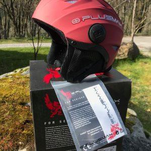Plusmax Plusair 2 S Red Helmet