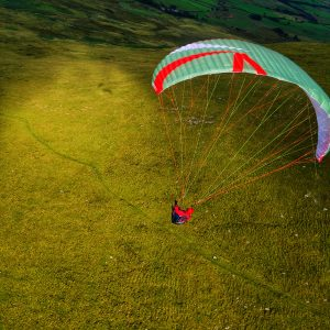 UK Airsports flying the Skywalk ARRIBA4 on Carrock in the Lake District
