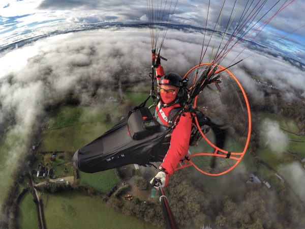 UK Airsports GIN Cocoon Dan Burton