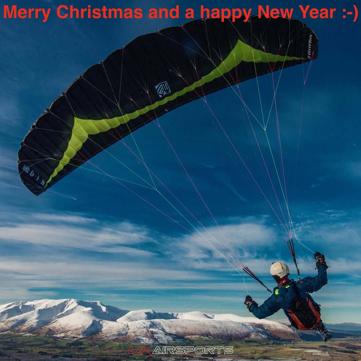 UK Airsports wishing you a very Merry Christmas and a happy New Year.