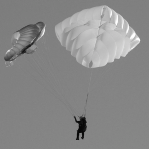 UK Airsports paragliding reserve, rescue or emergency parachute