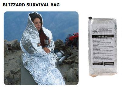Blizzard Survival Bag
