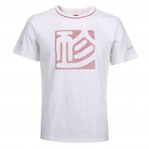 gin podium t shirt white